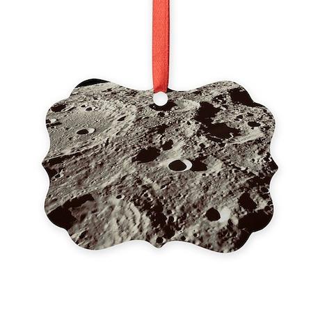 Lunar surface Picture Ornament