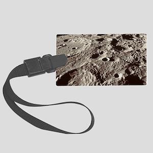 Lunar surface Large Luggage Tag