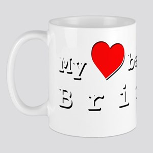 My Heart Belongs To Britney Mug