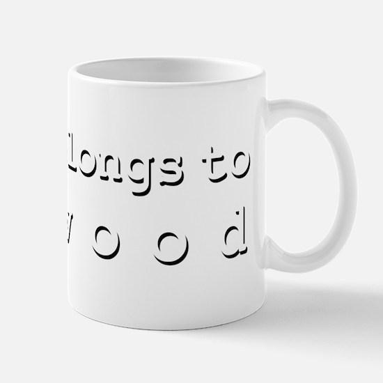My Heart Belongs To Linwood Mug
