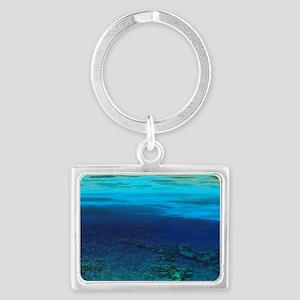 Neptune Landscape Keychain