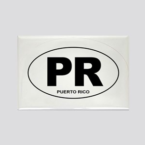 Puerto Rico - PR Rectangle Magnet