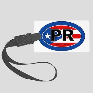Puerto Rico - PR Large Luggage Tag