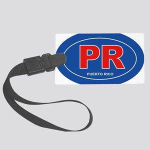 Puerto Rico - PR Large Luggage Tag