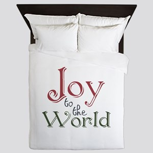 Joy to the World Queen Duvet