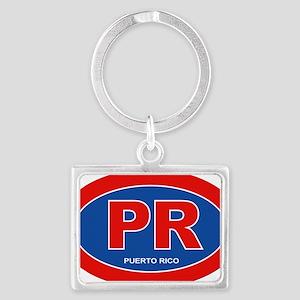Puerto Rico - PR Landscape Keychain