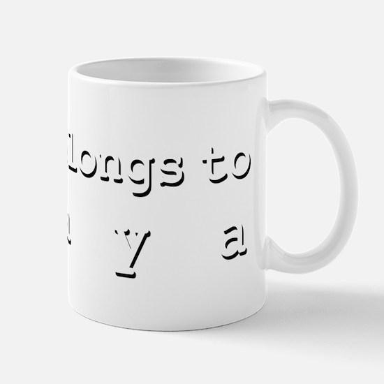My Heart Belongs To Chaya Mug