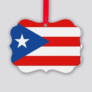 Puerto Rico - PR Picture Ornament
