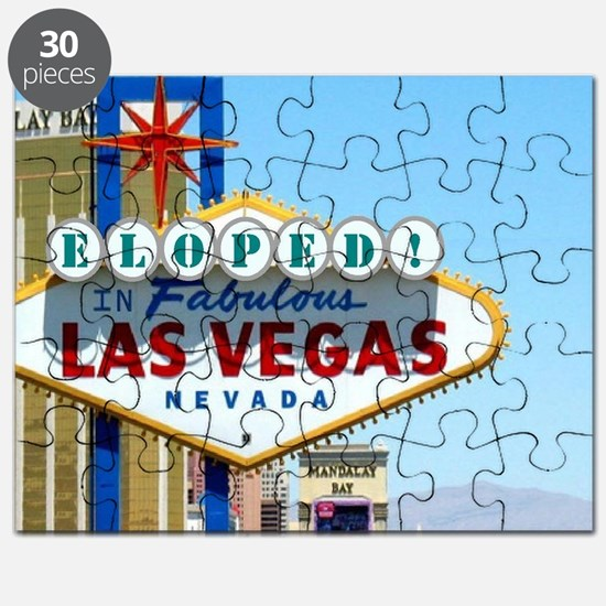 Eloped In Las Vegas Card Puzzle