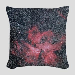 Optical image of Eta Carinae N Woven Throw Pillow