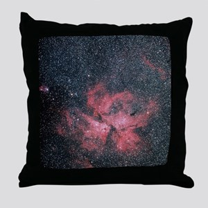 Optical image of Eta Carinae Nebula Throw Pillow