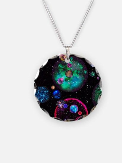 Multiple universes Necklace
