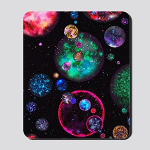 Multiple universes Mousepad