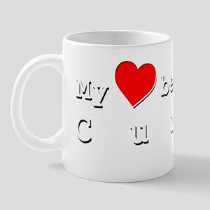 My Heart Belongs To Curti Mug