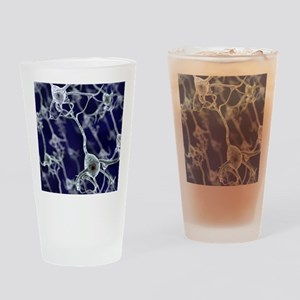 Neural network, computer artwork Drinking Glass