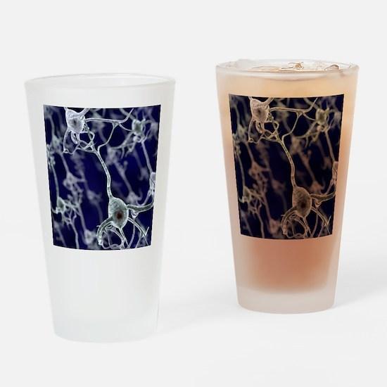 Neural network, computer artwork Drinking Glass