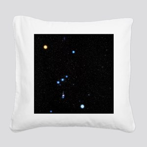 Orion constellation Square Canvas Pillow