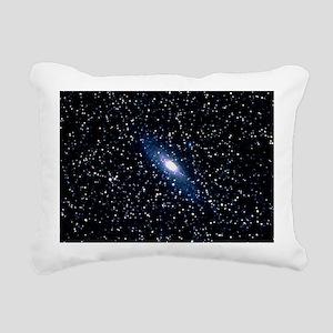 Optical photograph of th Rectangular Canvas Pillow
