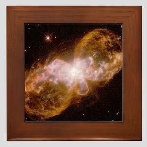 Planetary nebula Hubble 5 Framed Tile