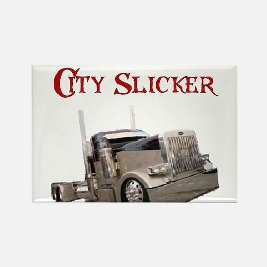 City Slicker Rectangle Magnet