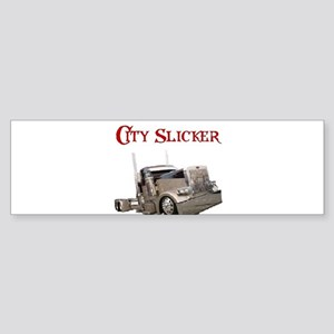 City Slicker Bumper Sticker