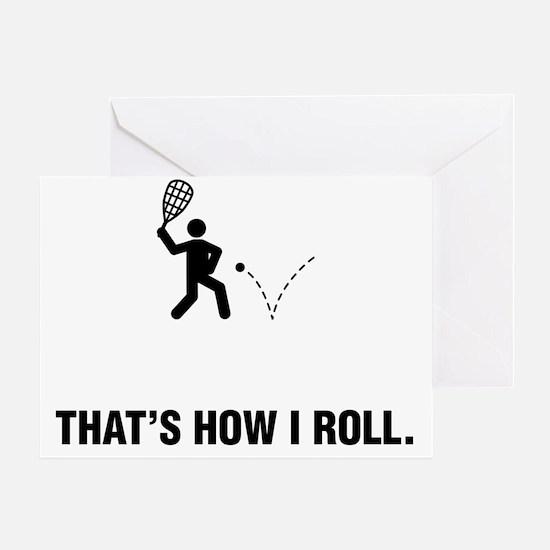 Racquetball-ABG1 Greeting Card