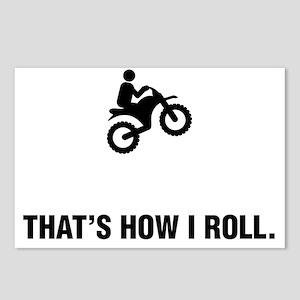 Dirt-Biking-ABG1 Postcards (Package of 8)