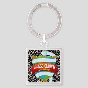 crest jewelry 2 Square Keychain