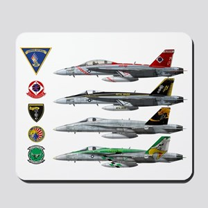 Carrier Air Wing FIVE Mousepad