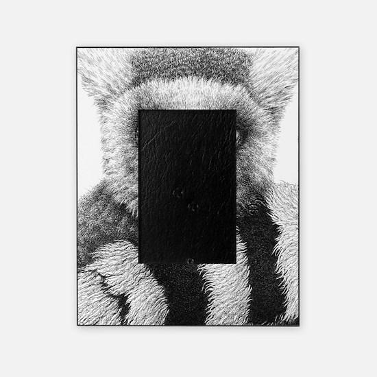 Ring-tailed Lemur Large Framed Print Picture Frame