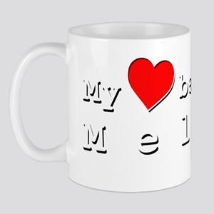 My Heart Belongs To Melina Mug