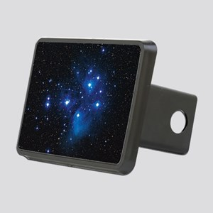 Pleiades star cluster Rectangular Hitch Cover