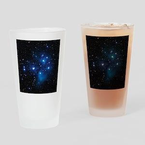 Pleiades star cluster Drinking Glass