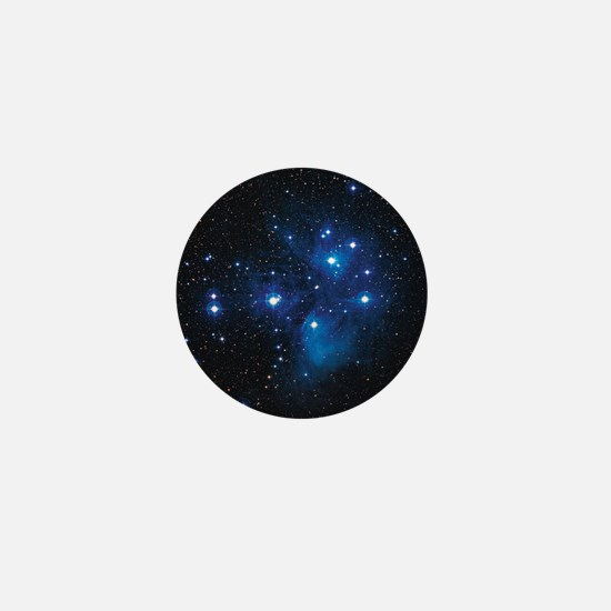 Pleiades star cluster Mini Button