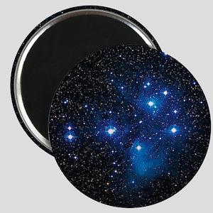 Pleiades star cluster Magnet