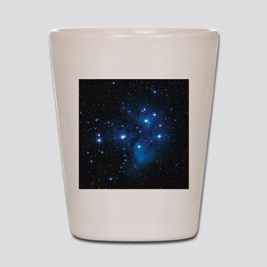Pleiades star cluster Shot Glass
