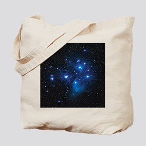 Pleiades star cluster Tote Bag