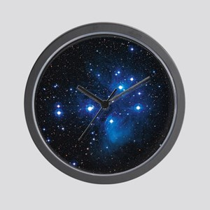 Pleiades star cluster Wall Clock