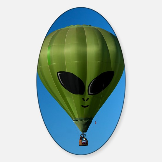 (10) Balloons Shape   6244 Sticker (Oval)