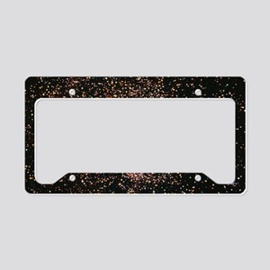 Sagittarius star cloud (M24) License Plate Holder