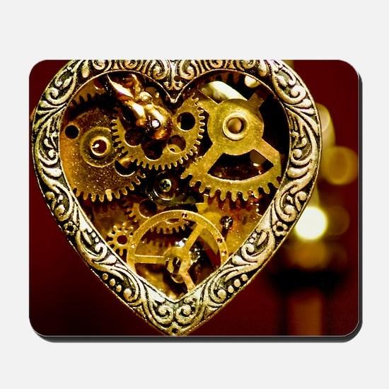 Clockwork Heart Mousepad