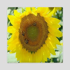 sunflower shower curtain Queen Duvet