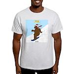 Snowboarding Bear Light T-Shirt