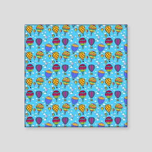 "Hot Air Balloons Square Sticker 3"" x 3"""