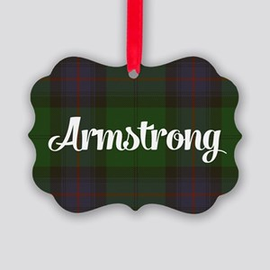 Armstrong Tartan Picture Ornament