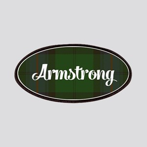 Armstrong Tartan Patches