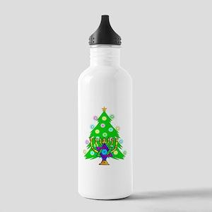 Christmas Hanukkah Int Stainless Water Bottle 1.0L