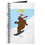 Snowboarding Bear Journal
