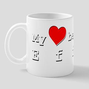 My Heart Belongs To Effie Mug