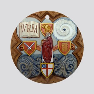 2006 Form Plaque Round Ornament